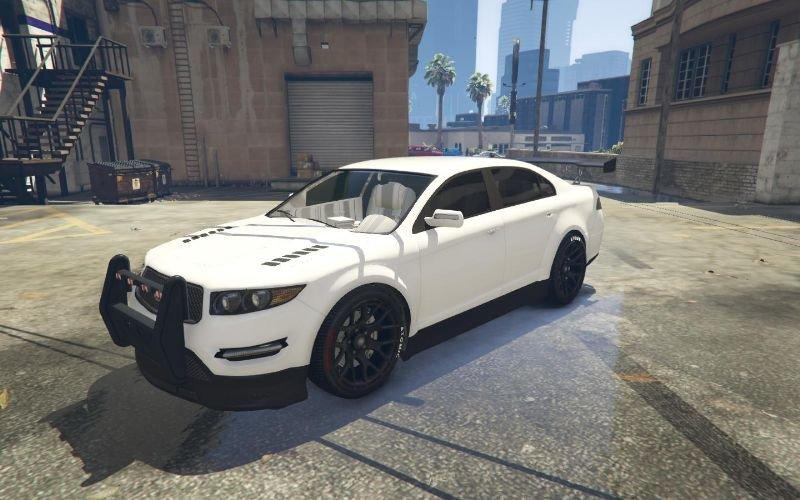 Police Civilian Car Gta5 Mods Com