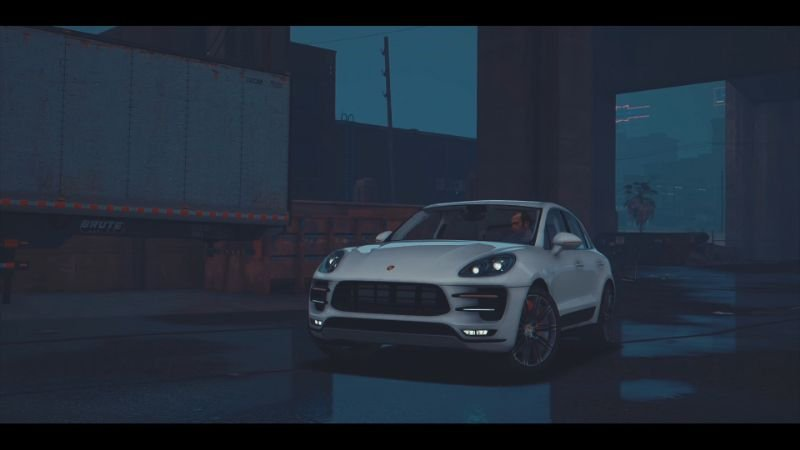 Cce6c9 gta 5 МОДЫ   2016 porsche macan turbo.mkv 20170506 203200.280