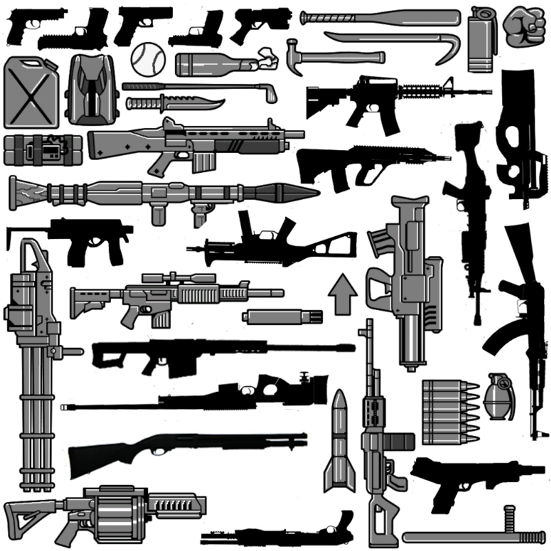 Ca054a weapons all