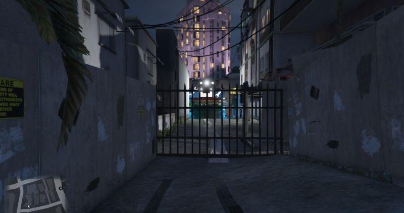 Af4835 entrance