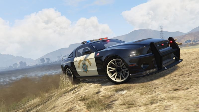 SA Highway Patrol Ford Shelby GT500