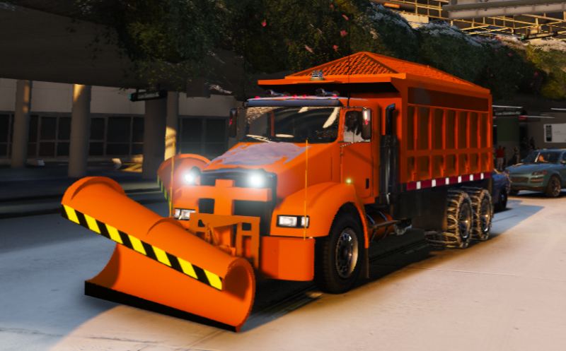 Snow Plow Salter Els Gta5 Mods Com