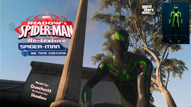51ecf8 spider man big time suit pic1