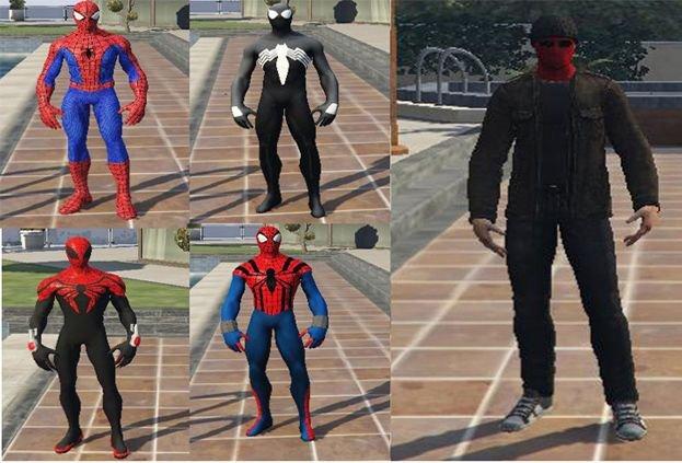 Spider-Man Collection [Add-On] - GTA5-Mods com
