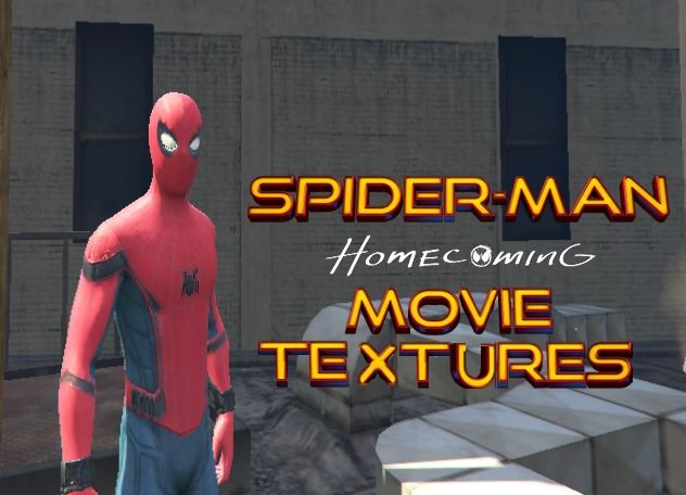 Spider-man Homecoming Movie-like Textures