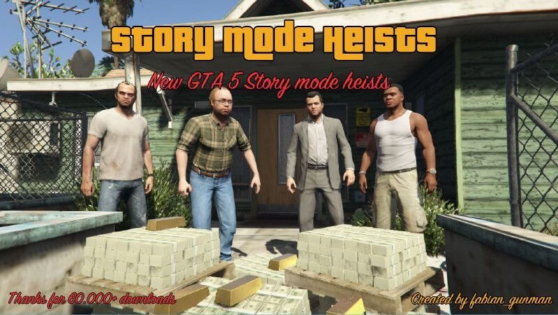 7164ed gta 5 story mode heists image