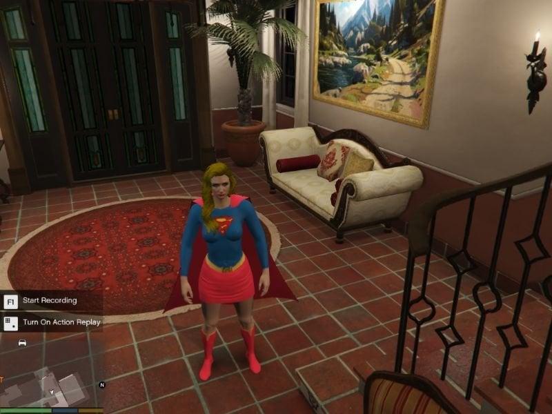 D2567c supergirl