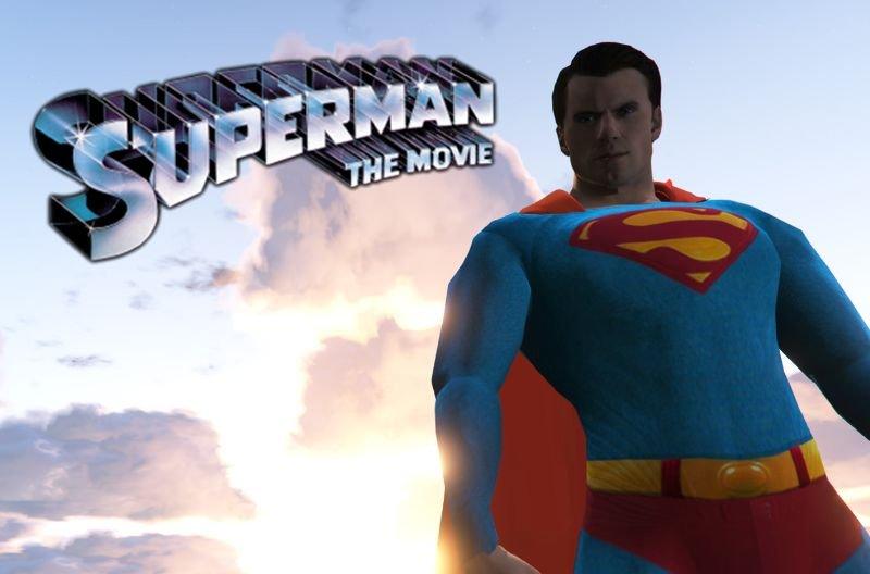 Superman Paint Job Gta