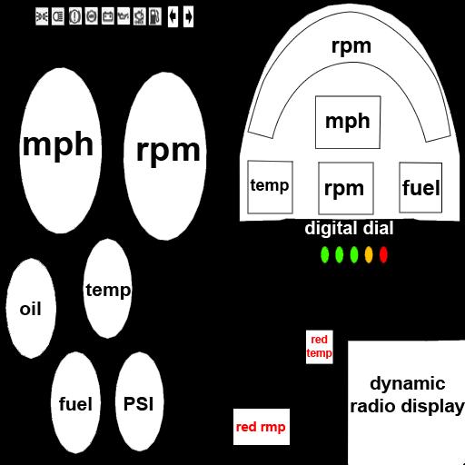 Fe70ca racedial