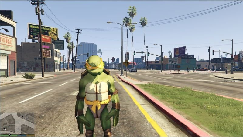 gta 5 mods teenage mutant ninja turtles