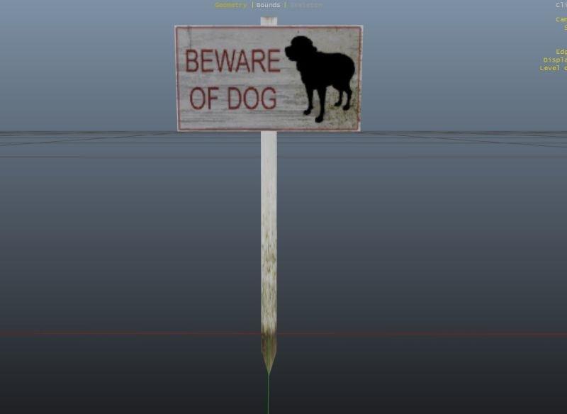 Bde04a dogsign34234