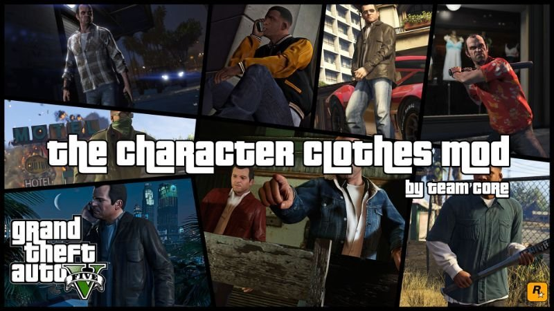 B32388 the character clothes mod mainimage