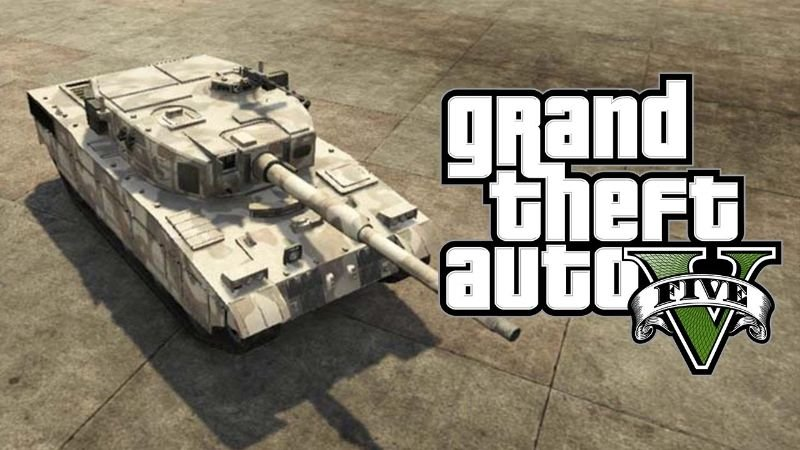 how to get a tank in gta 5
