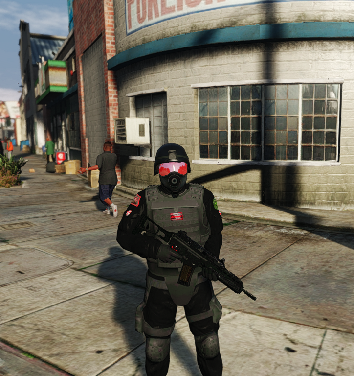 Umbrella Corporation Soldiers Gta5 Mods Com