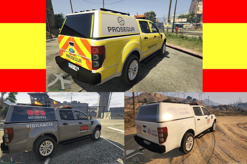 spanish security company vehicles gta modscom