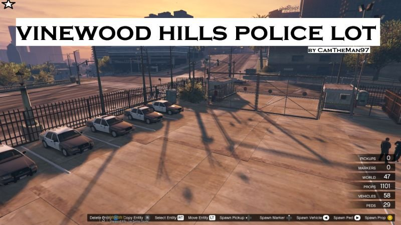 80cfb0 vinewood hills police lot