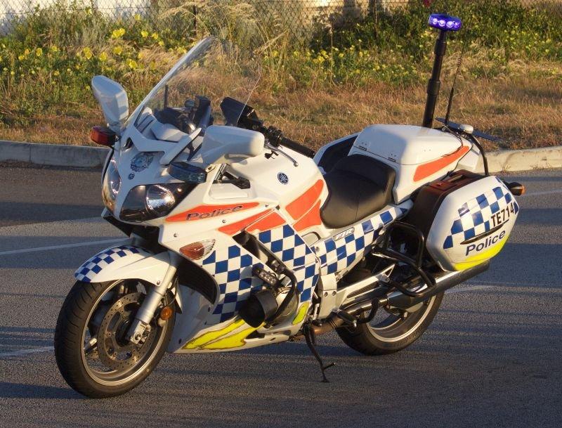 9d504d western australia police motorcycle