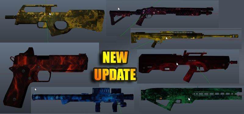 B783b9 guns