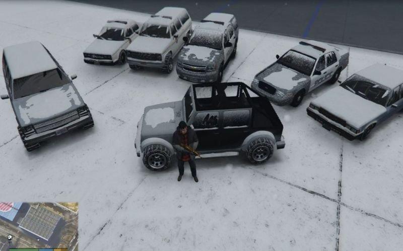 17de7e north yankton 'snow covered' vehicles pic2