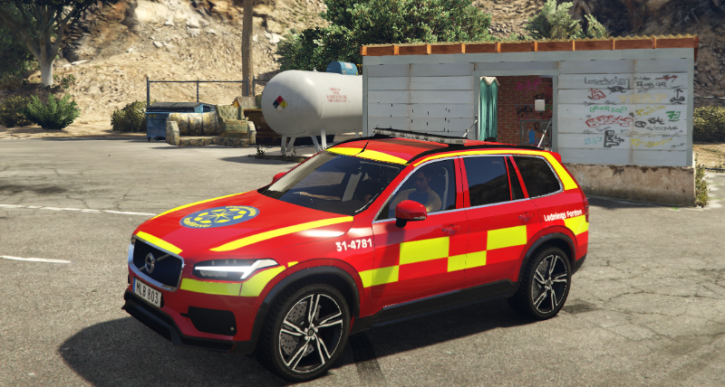 Xc90 Ambulance >> XC90 - Swedish/Stockholm Fire Brigade | Ledningsfordon | 2017 - GTA5-Mods.com
