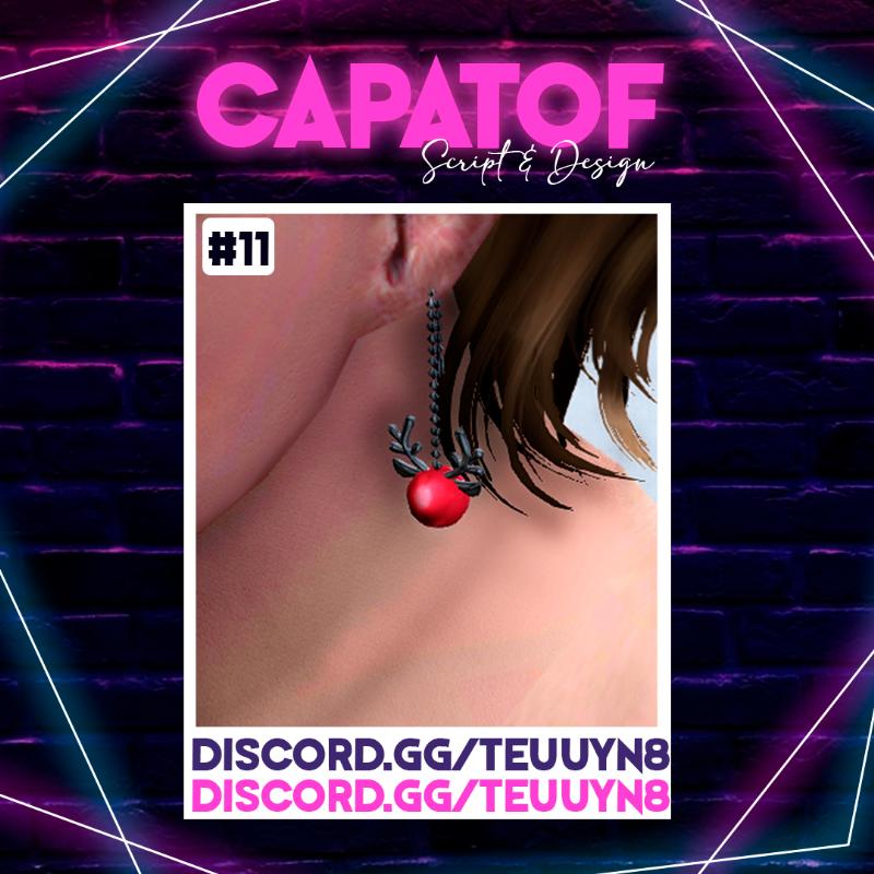56aa69 earring de cosplay de naclara3