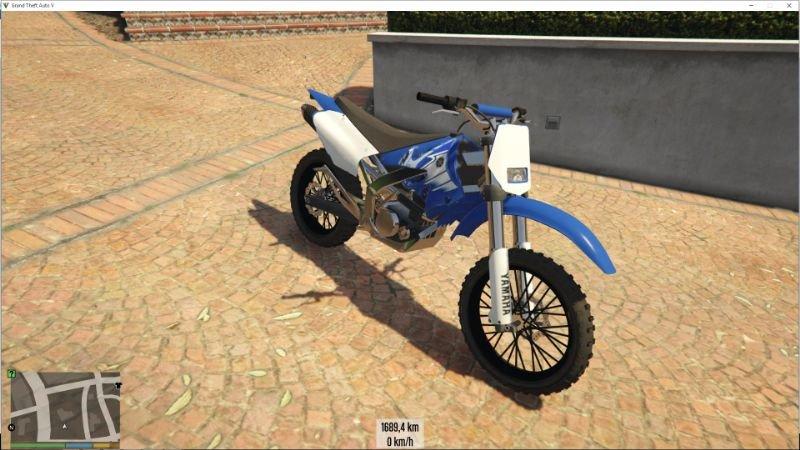 Elicottero Yamaha : Yamaha yz hd retexture gta mods