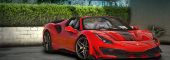Ferrari Pista 488 Spider 2019 [Add-On | Extras | Wheels | Animated Roof | Template | LODs]