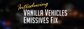Vanilla Vehicles Emissives Fix [Add-On][.OIV]