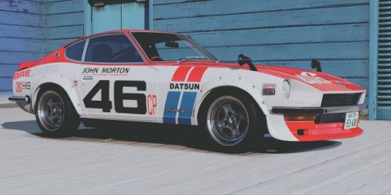 [1969 Nissan Fairlady Z (S30)]BRE DATSUN livery