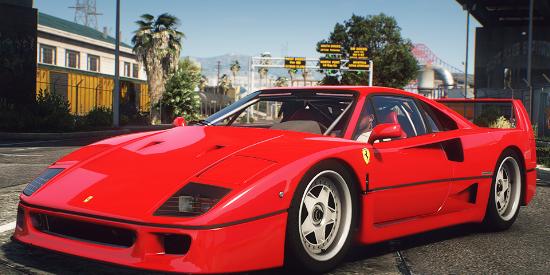 1987 Ferrari F120 [F-40] EU Spec [Add-On | Animated | LODs]