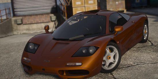 1993 McLaren F1 [Add-On / FiveM | Template | Tuning | LODs]