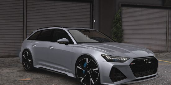2020 Audi RS6 C8 Avant [Add-On   Extras   Tuning   Template]