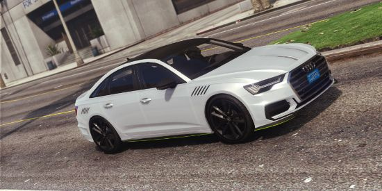 Audi A6 '20 [Add-On | Tuning | LODs | Template]