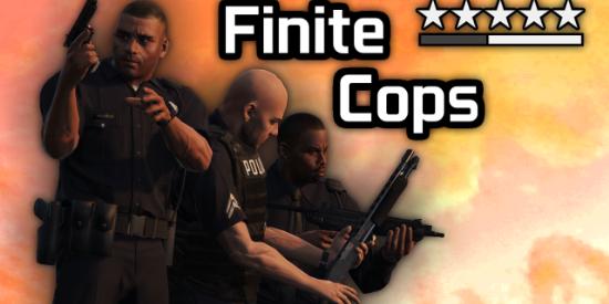 Finite Cops