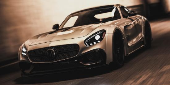 PS4 - GTA V: Mercedes AMG GTS Car Mod by Mansory | PSX-Place