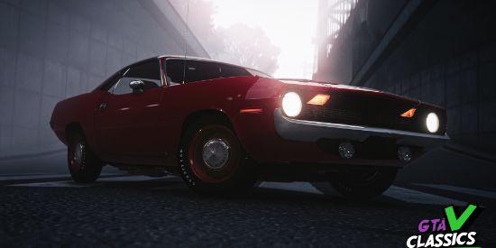 Plymouth HEMI Cuda' 197x 5 in 1 [Add-On | LODs | Tuning | Sound | Template]