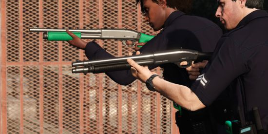 Shrewsbury Sentinel Shotgun [Animated]