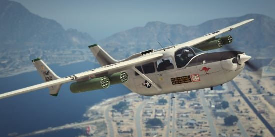 USAF [Armed] 337 / O-2 Cessna Skymaster [Add-On]