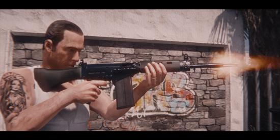 Vom Feuer Militia Rifle (lore friendly FAL) [Animated]