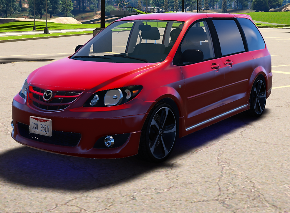 2004 mazda mpv es gta5. Black Bedroom Furniture Sets. Home Design Ideas