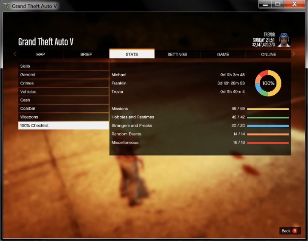 100% save game + all waepons and money - GTA5-Mods com