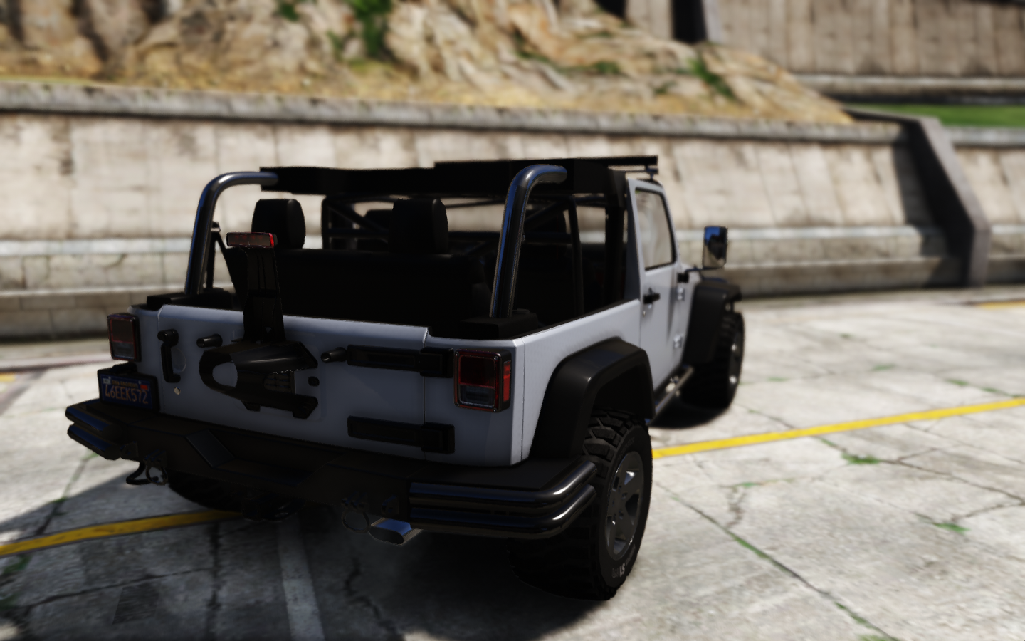 12 jeep wrangler [hq] - gta5-mods