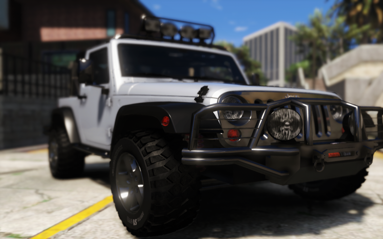 12 Jeep Wrangler HQ GTA5 Mods