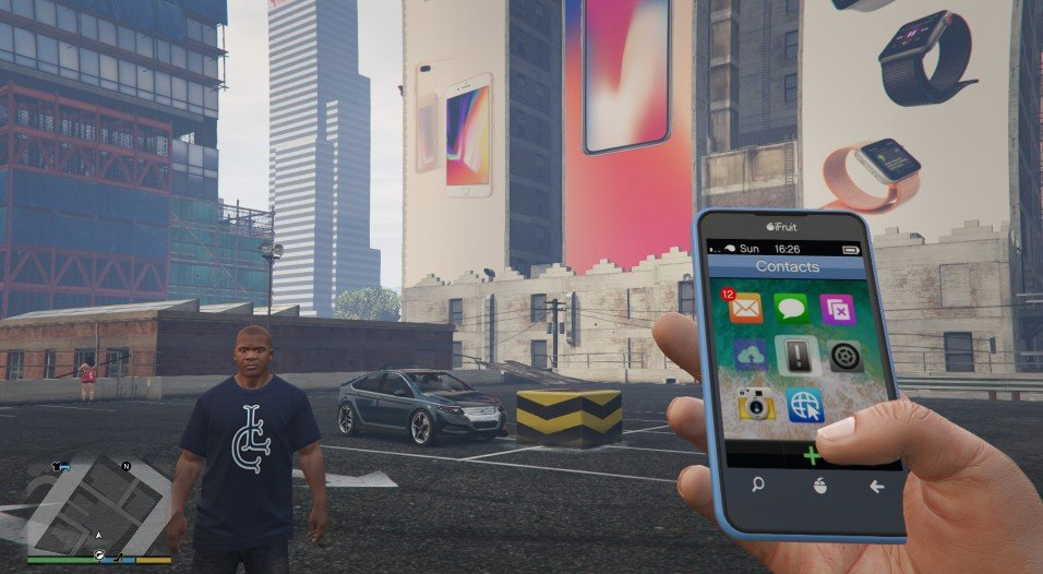 14x Ios 11 Wallpapers For Micheal Franklin Gta5 Mods Com
