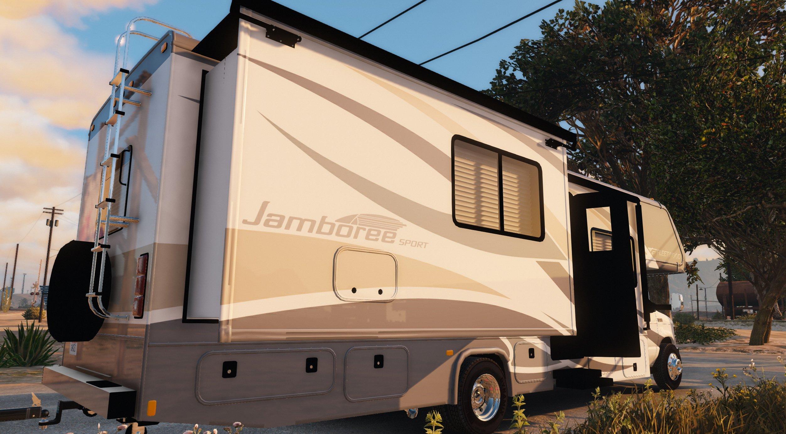 17 Fleetwood Jamboree RV [Add-On][Livery] - GTA5-Mods com