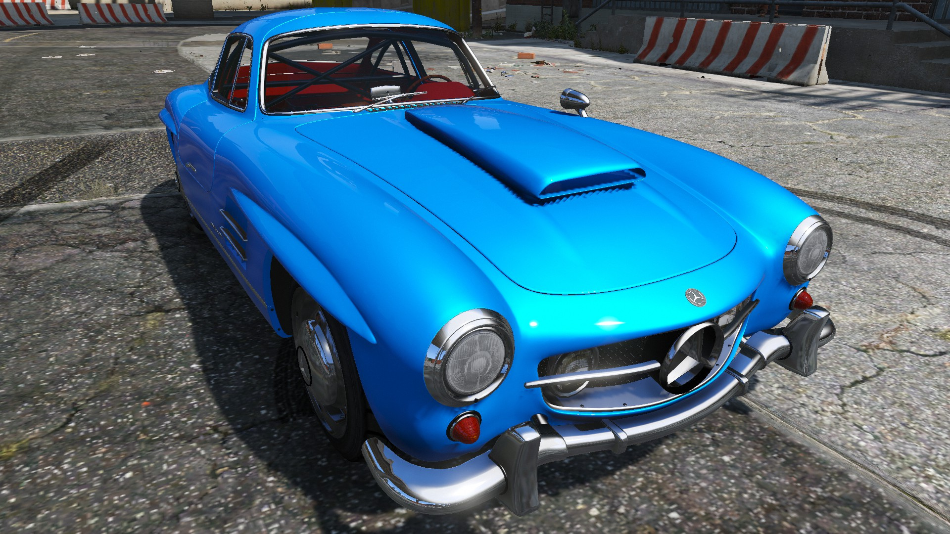 1954 mercedes benz 300 sl gullwing gta5. Black Bedroom Furniture Sets. Home Design Ideas