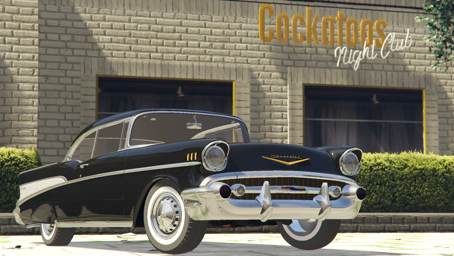 1957 Chevrolet Bel Air Sport Coupe Tuning Chevy Impala 08dd2a Belair1