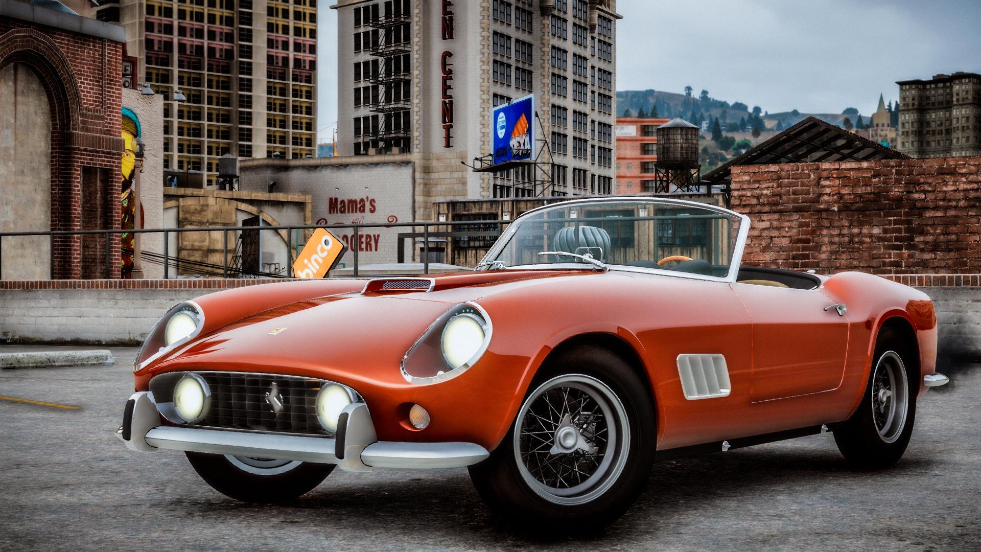 1957 Ferrari 250 Gt California Spyder Lwb Add On Lods Template Gta5 Mods Com