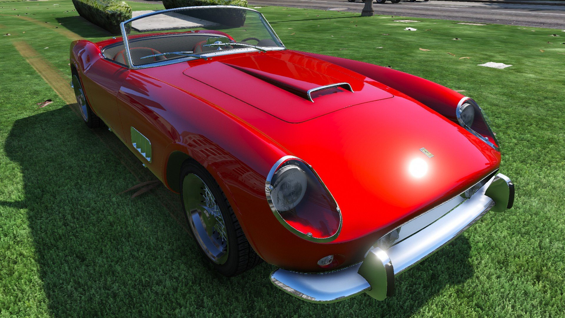 1957 Ferrari 250 Gt California Voiture Galerie