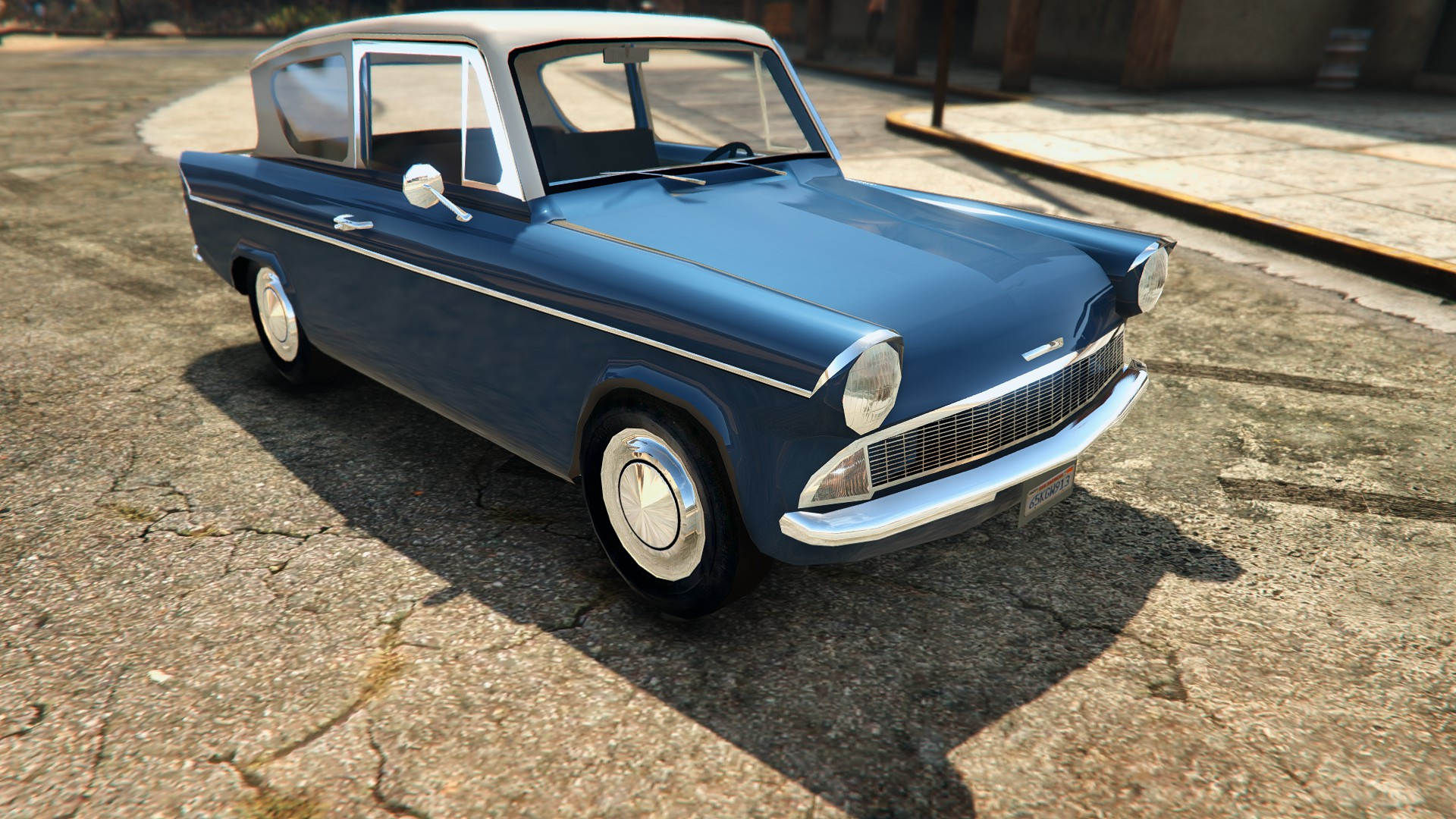 1959 ford anglia from harry potter gta5. Black Bedroom Furniture Sets. Home Design Ideas